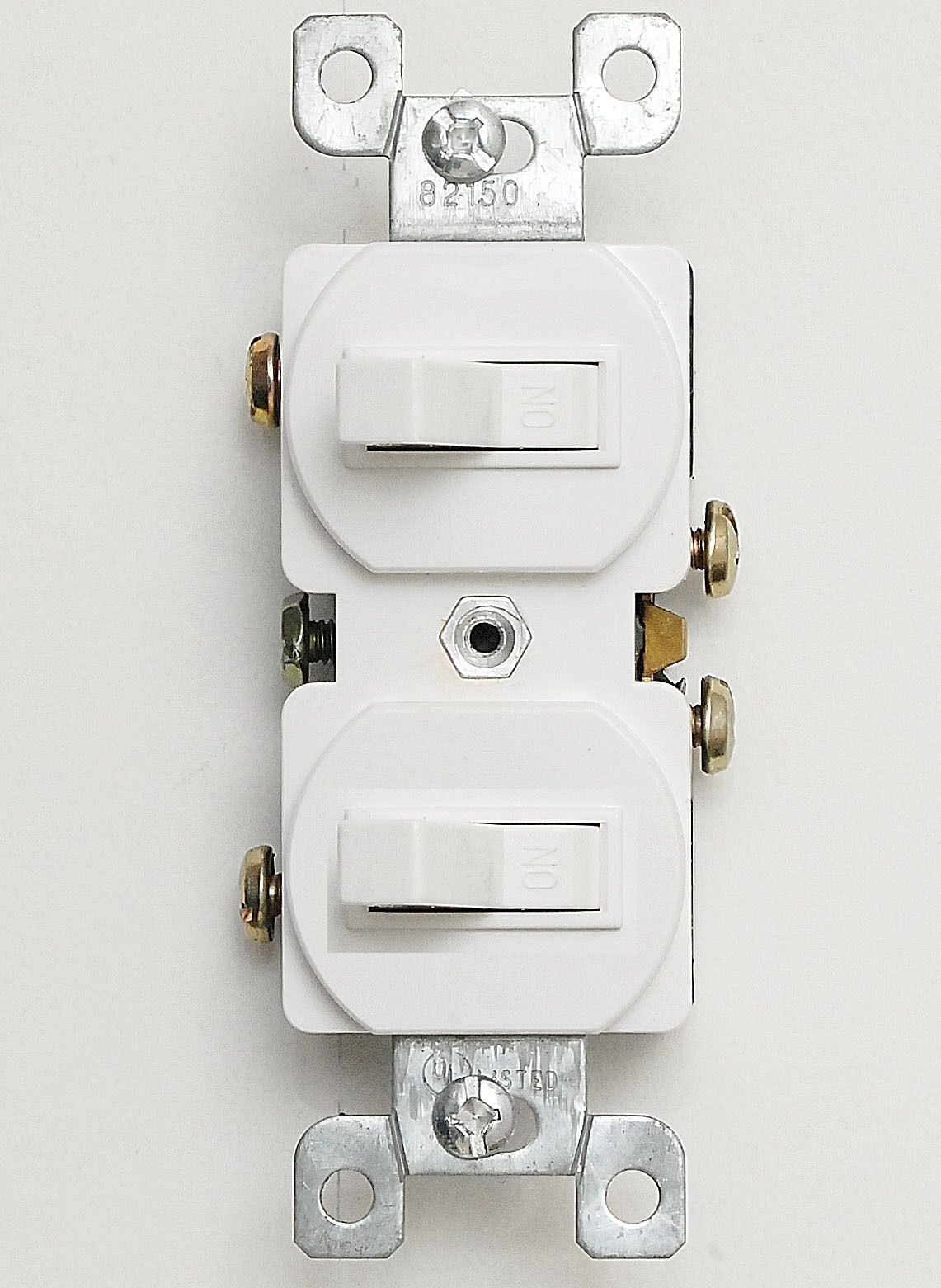 Stacked A Dual Switch Wiring Diagrams Double Diagram Leveton Installation Quot Toggle 15a 120v Driver Battery