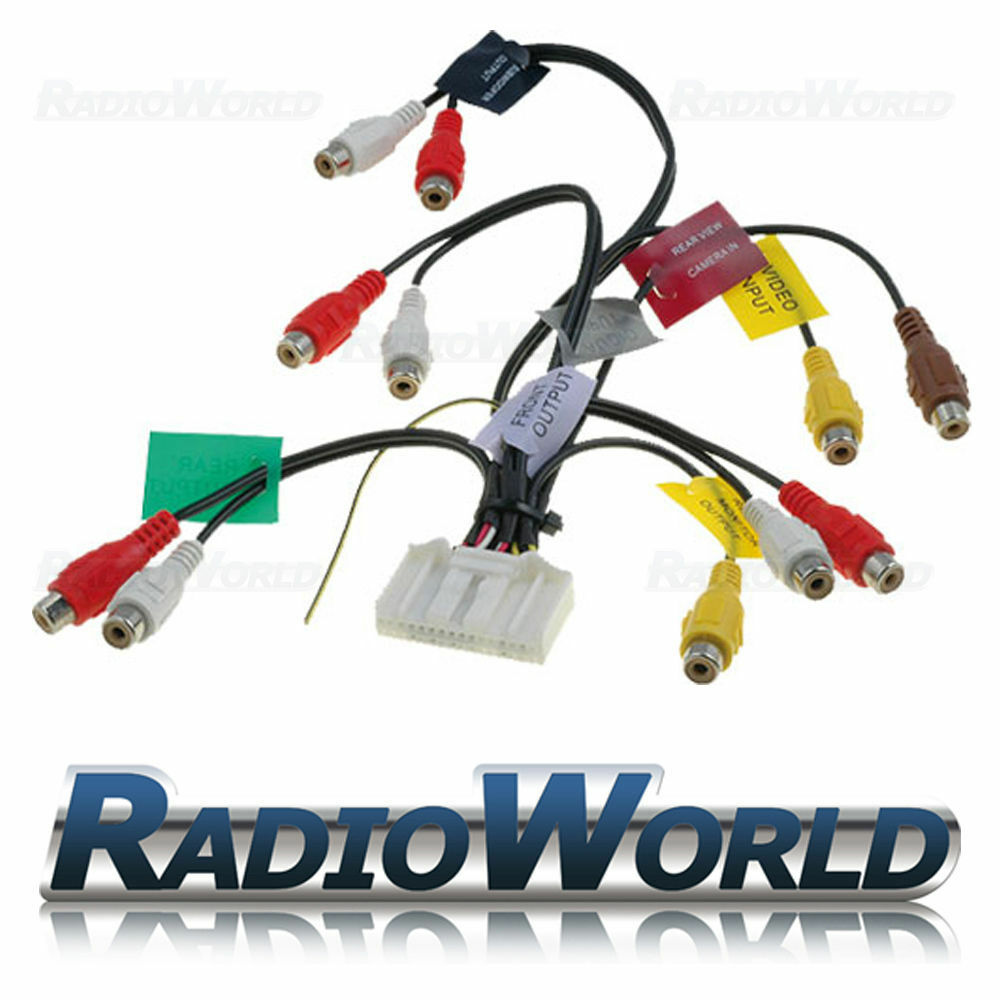 Pioneer Rca Pre Out Phono Cable Lead Wiring Harness Avic F920bt E46 Wire To 1 Of 1free Shipping