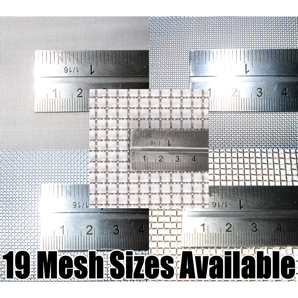STAINLESS STEEL WOVEN WIRE MESH (filter grading sheet) - $3.82 ...