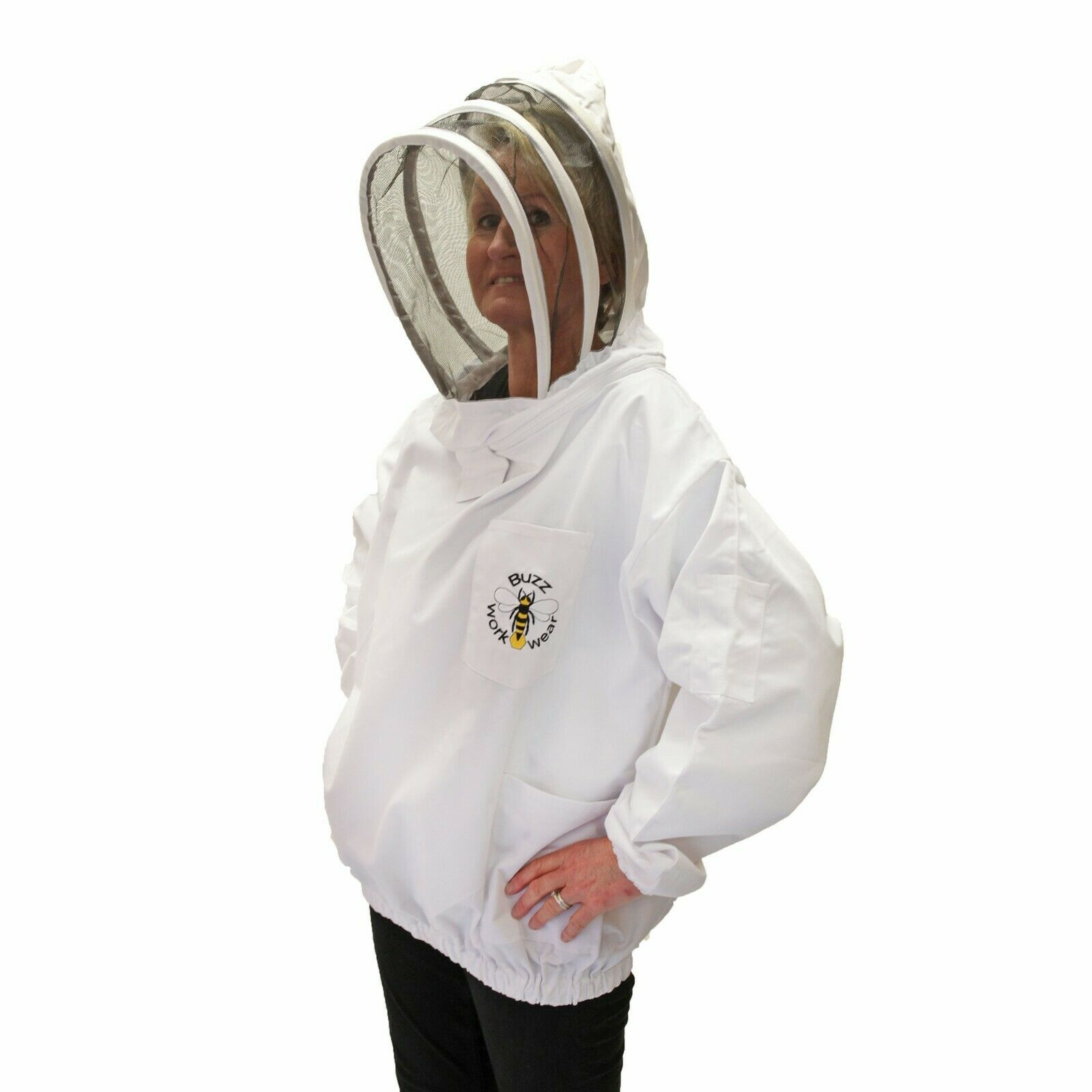 Childrens Beekeeping Bee Jacket/Tunic (fencing veil) - CHILDRENS LARGE