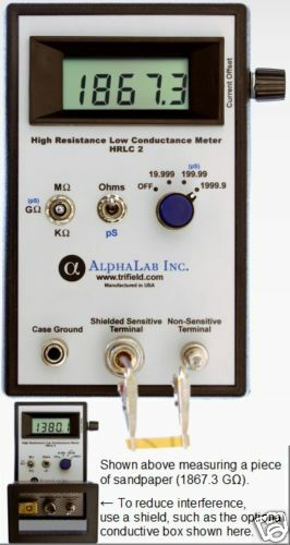 Ohmmeter Good Measurements And A High Low : High resistance meter meg ohm gig measurements