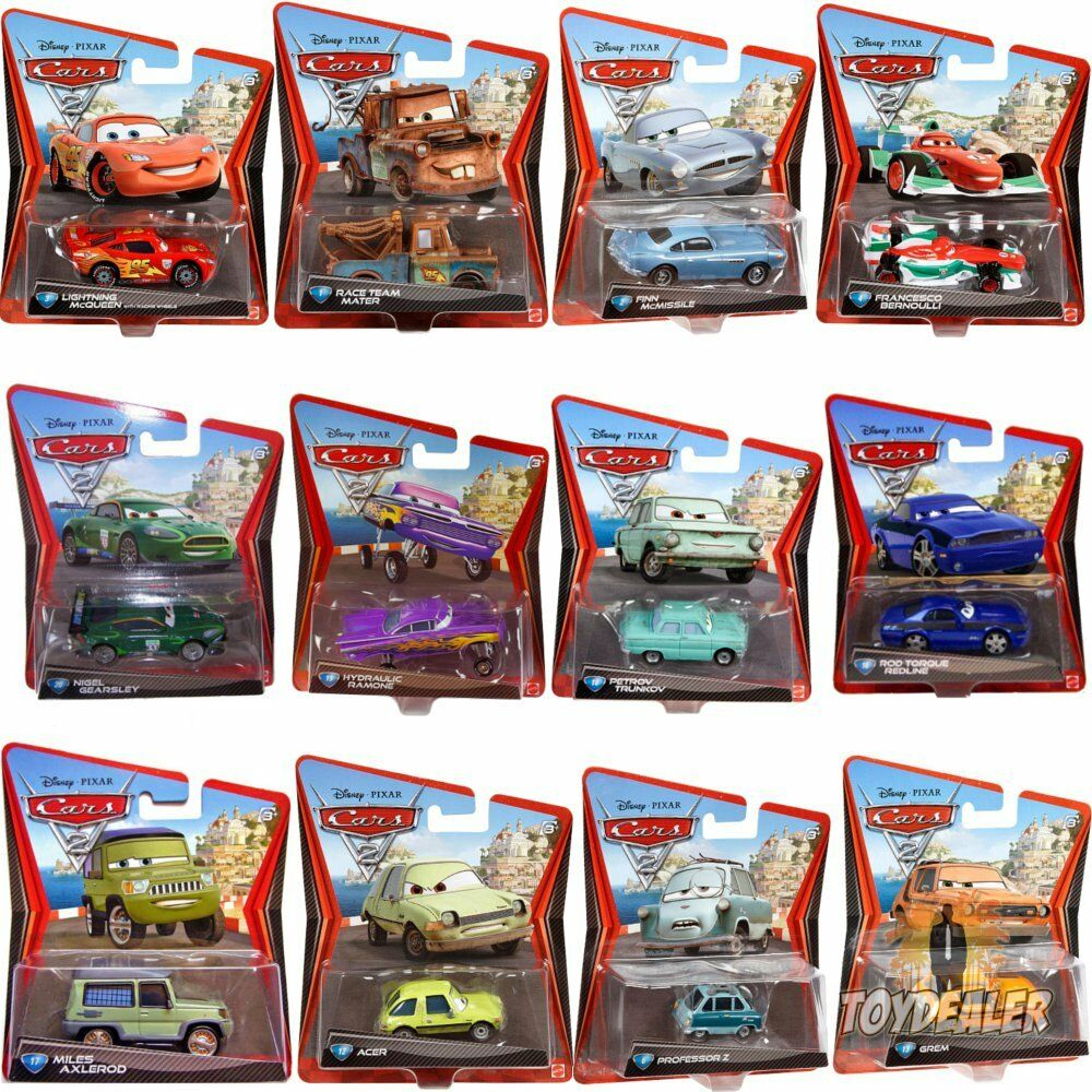 cars diecast auto 1 55 model walt disney pixar spielzeug geschenk kinder mattel eur 12 90. Black Bedroom Furniture Sets. Home Design Ideas