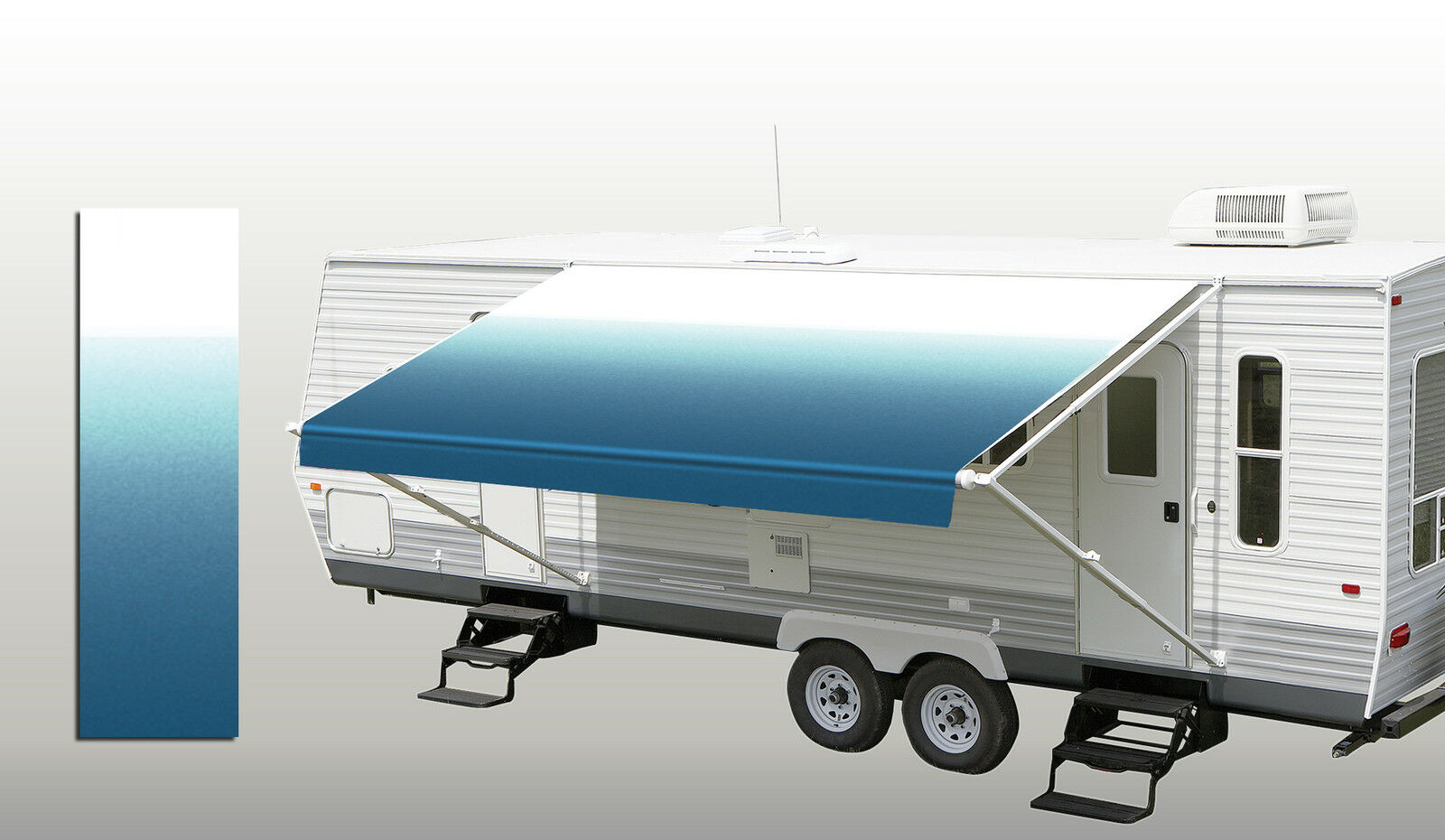 Brilliant I Need To Replace The Awning Fabric On My 18foot Awning All Of The Aftermarket Replacements I Find Are Two Pieces, A Main Awning And A Valance I Am Having Trouble Visualizing How The Two Are Joined Together In The Single Slot On The