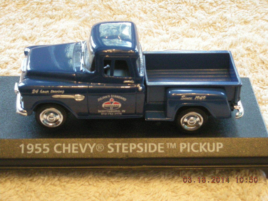 1955 13 Chevrolet Standard Oil Pickup Truck New In Box 2249 Ford F100 Pick Up St Louis 1 Of 2only Available