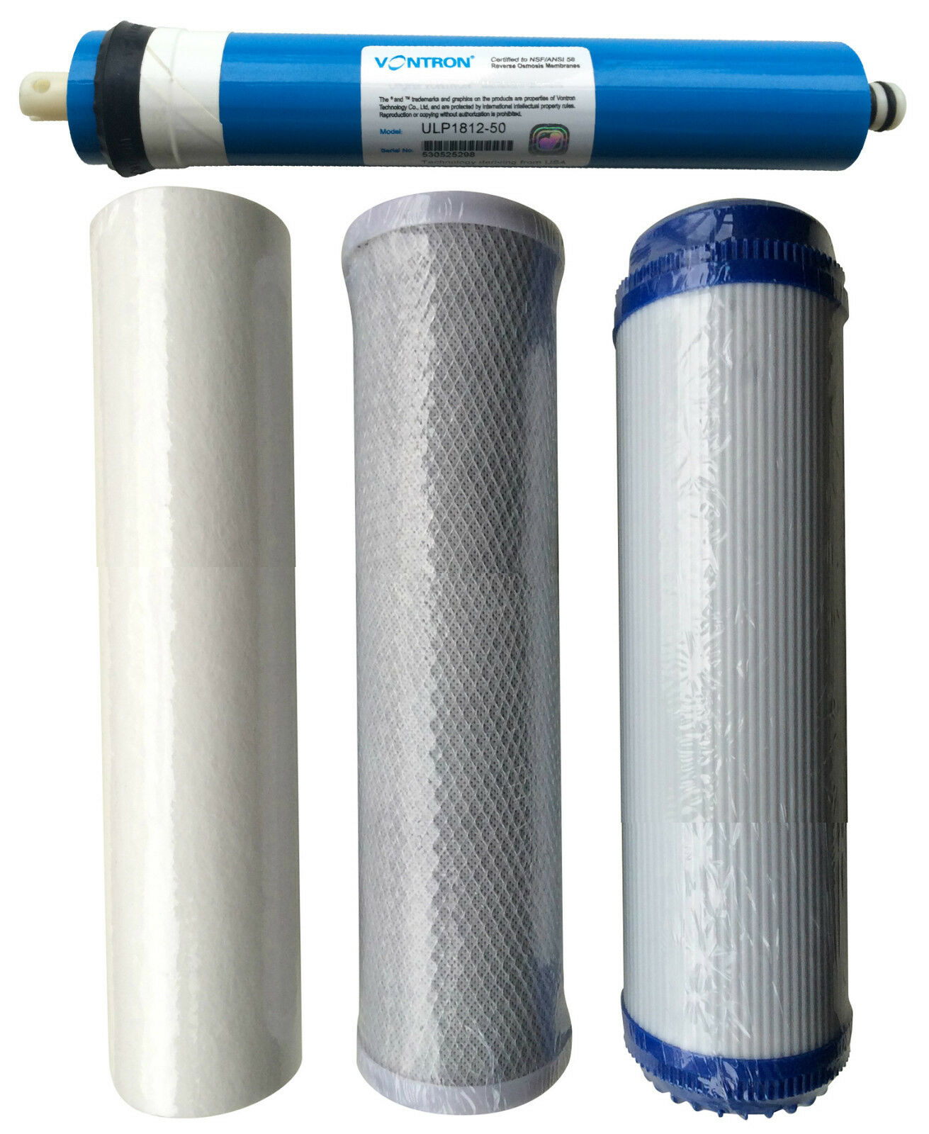 Reverse Osmosis RO Unit Complete Replacement Pre Filters Including Membrane