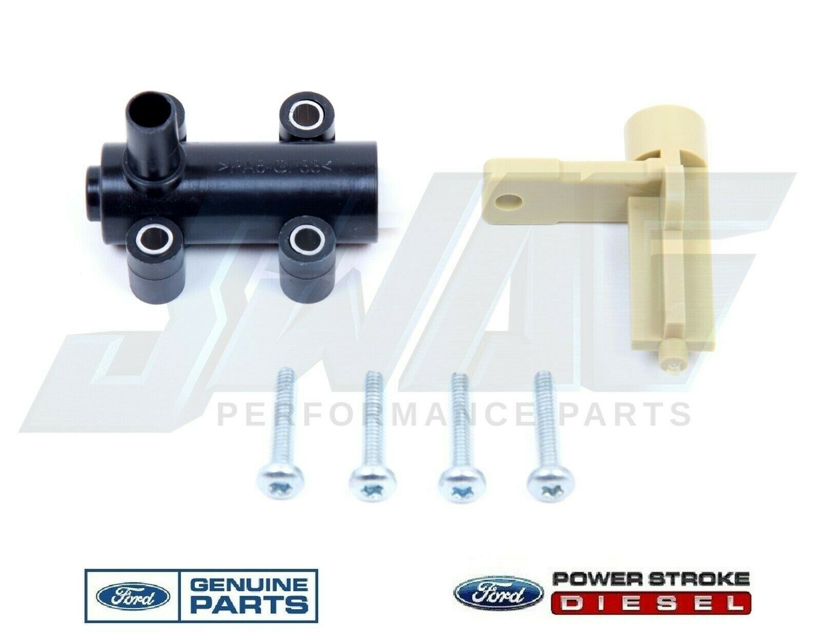 99 03 Genuine Ford 73l Powerstroke Diesel Oem Fuel Water Separator F450 Filter Housing 1 Of 1only 2 Available