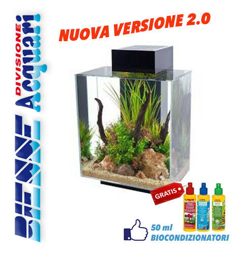 Acquario askoll fluval edge 46 litri illuminazione led new for Acquario shop online