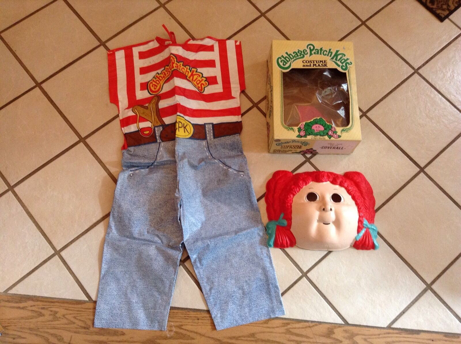 vintage childs 1983 cabbage patch kids halloween costume - $19.99