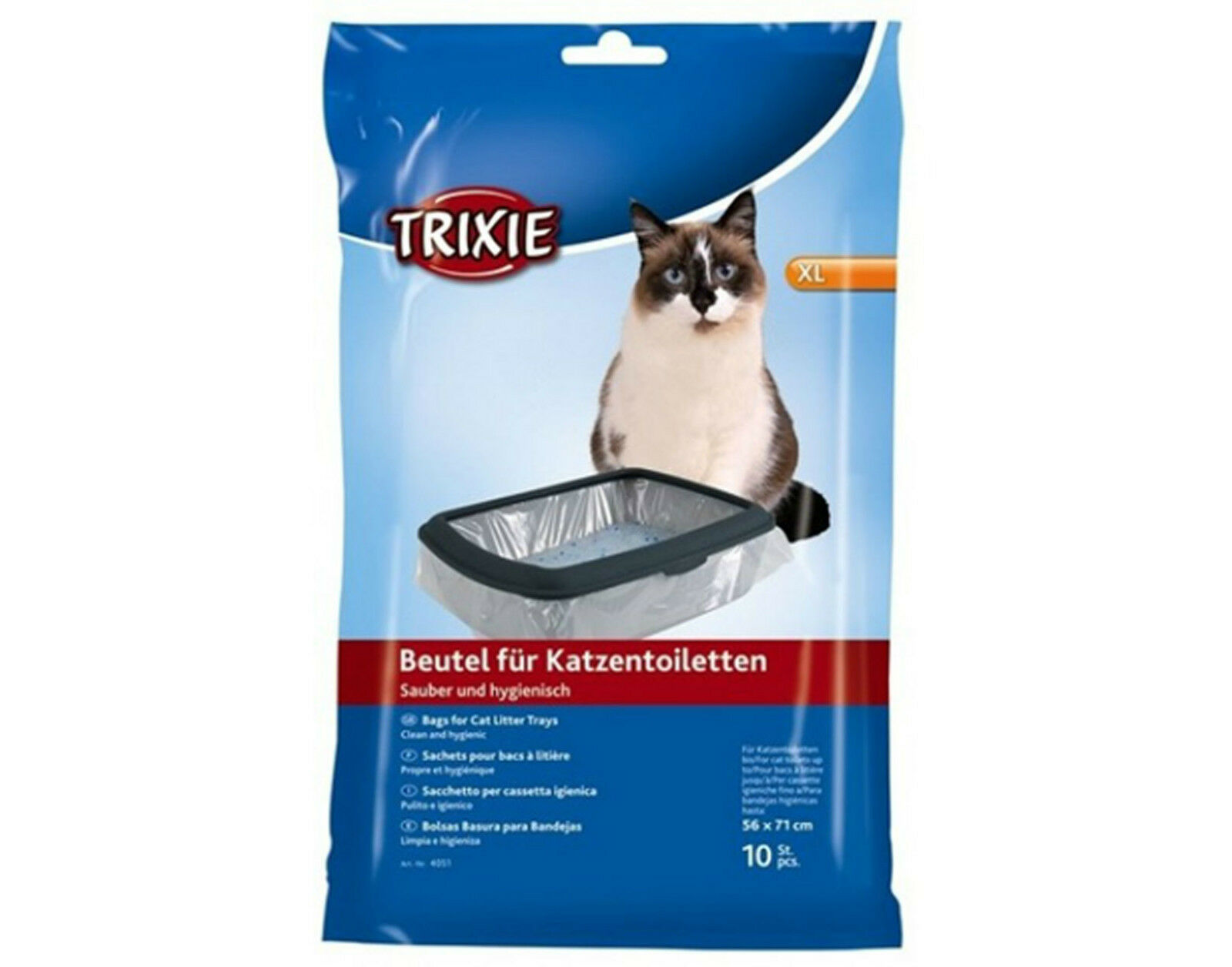 Trixie Cat Litter Tray Bags XL Size 4051