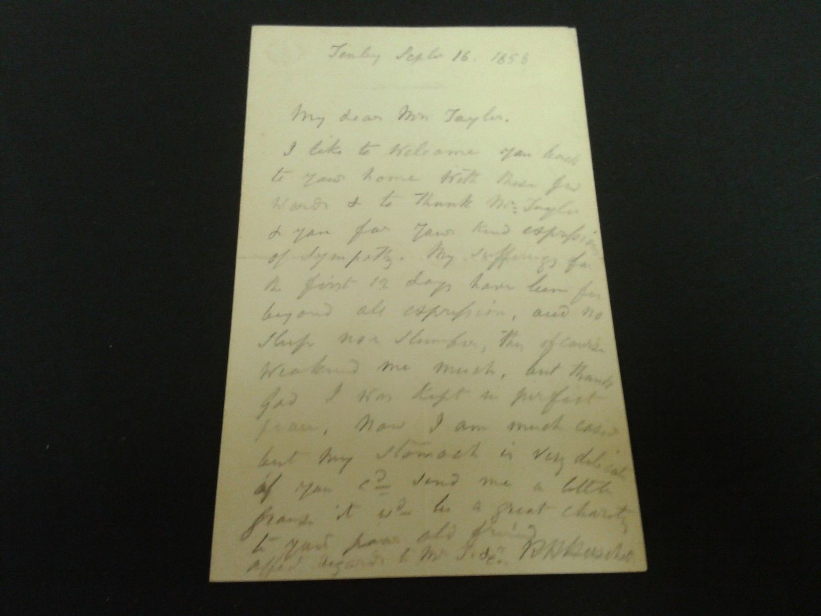 Autographed Letter Signed by R.H. Herschell