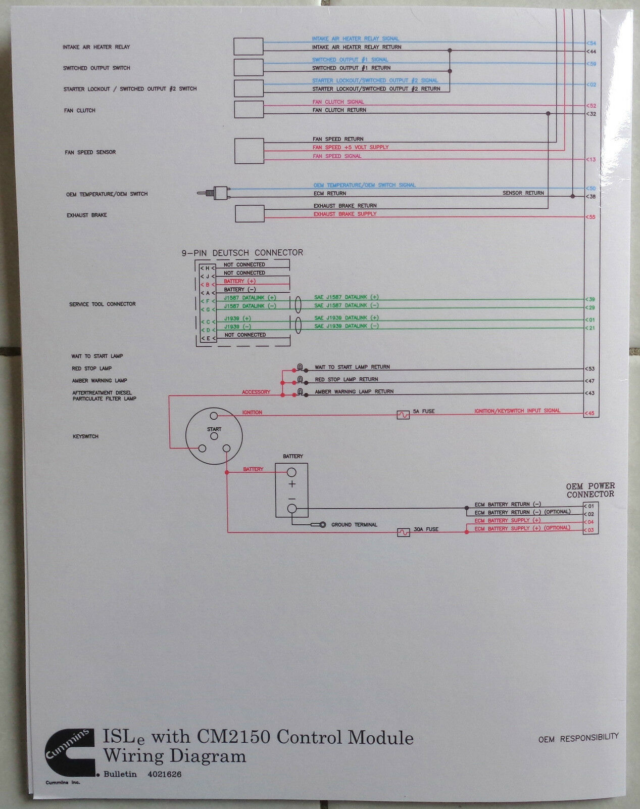 Cummins Laminated Isle With Cm2150 Control Module Wiring Diagram 2002 Indian Scout Diagrams