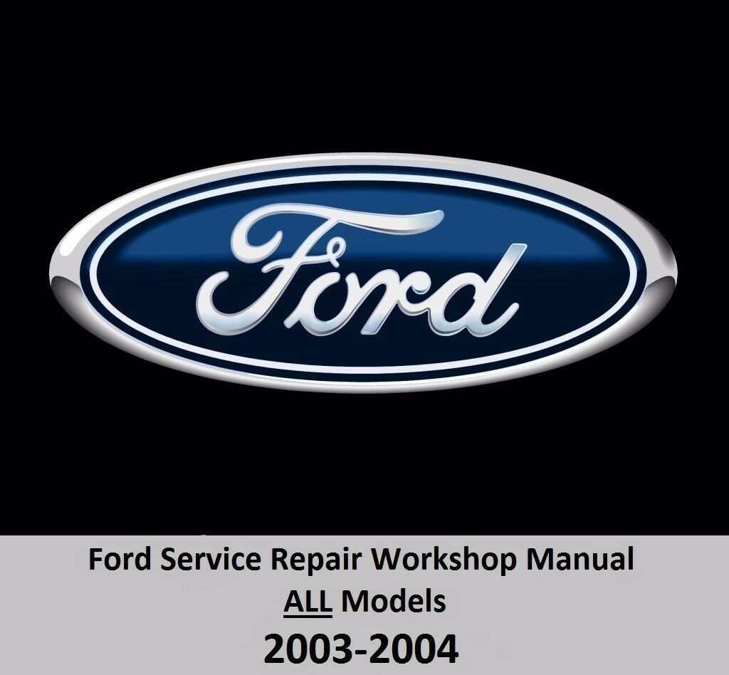 Ford ALL Models 2003-2004 Service Repair Workshop Manual on DVD 1 of 3Only  3 available See More