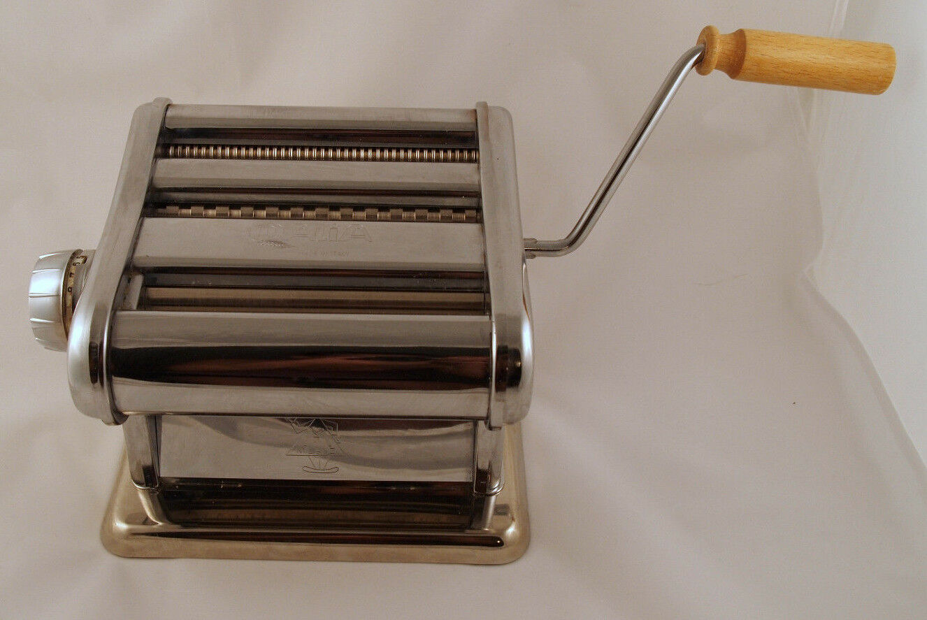 Dalia 160 Adjustable Pasta Maker Made In Italy Noodle Milano Steel ...