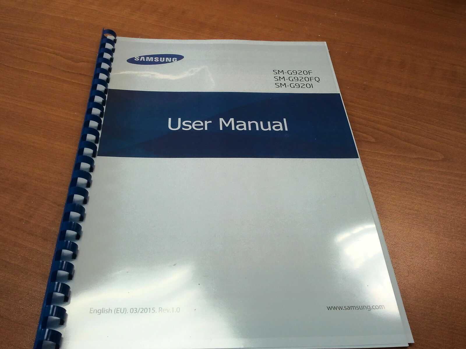 Samsung Galaxy S6 Sm G920f Printed Instruction Manual User Guide 140