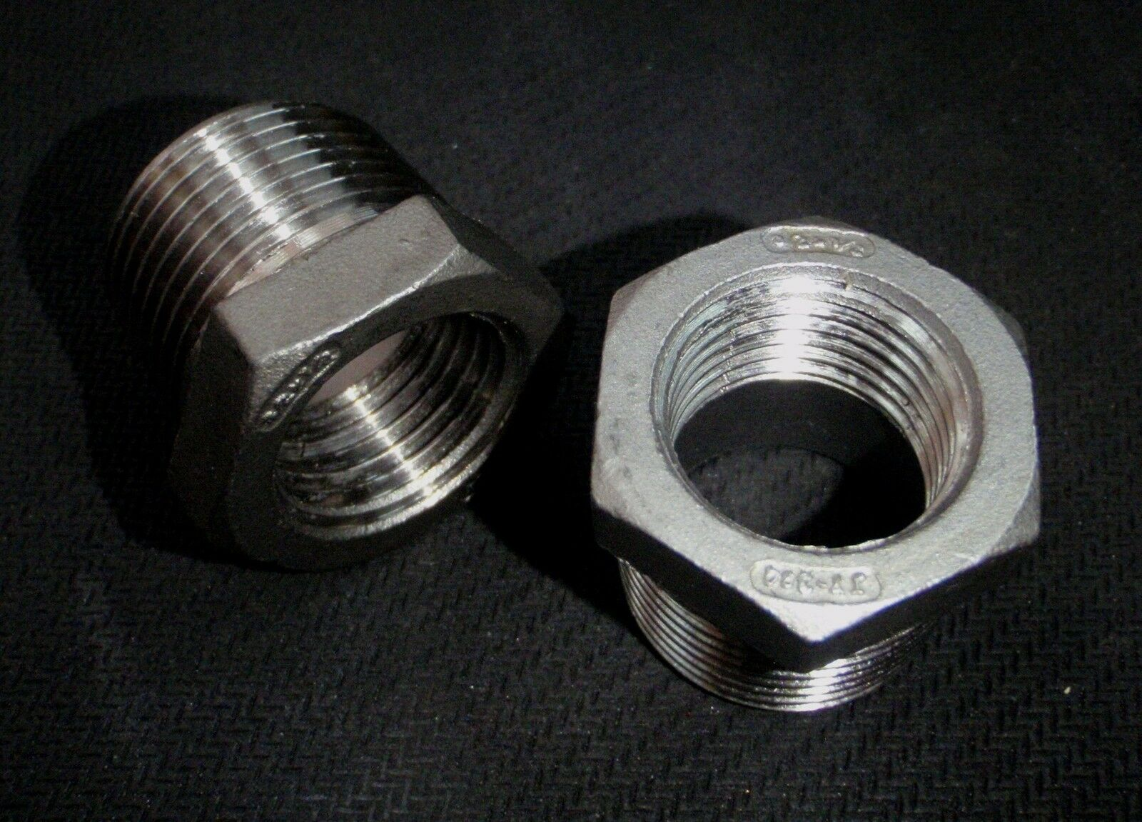 Stainless steel bushing reducer quot npt pipe