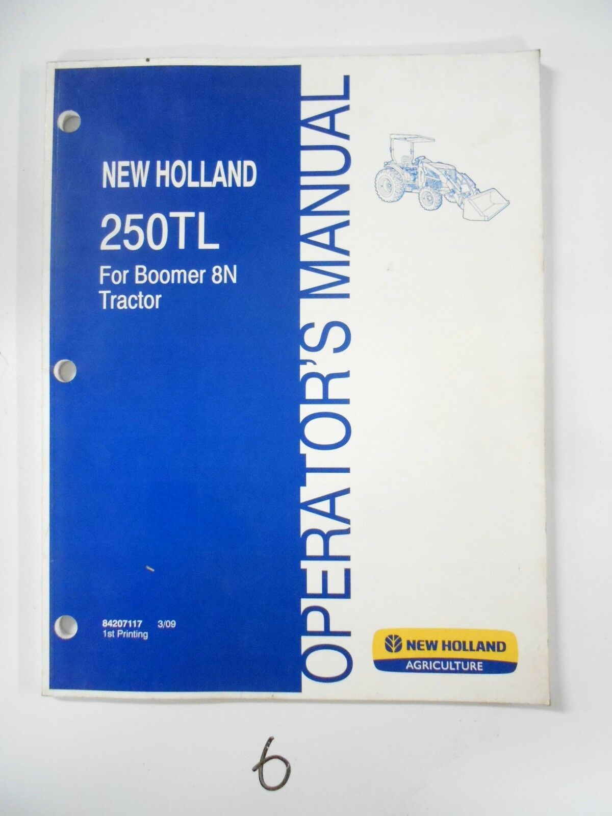 new holland 250tl loader operator s owner s manual for boomer 8n rh picclick com New Holland TN65 Manual New Holland TC30 Manual Downloadable