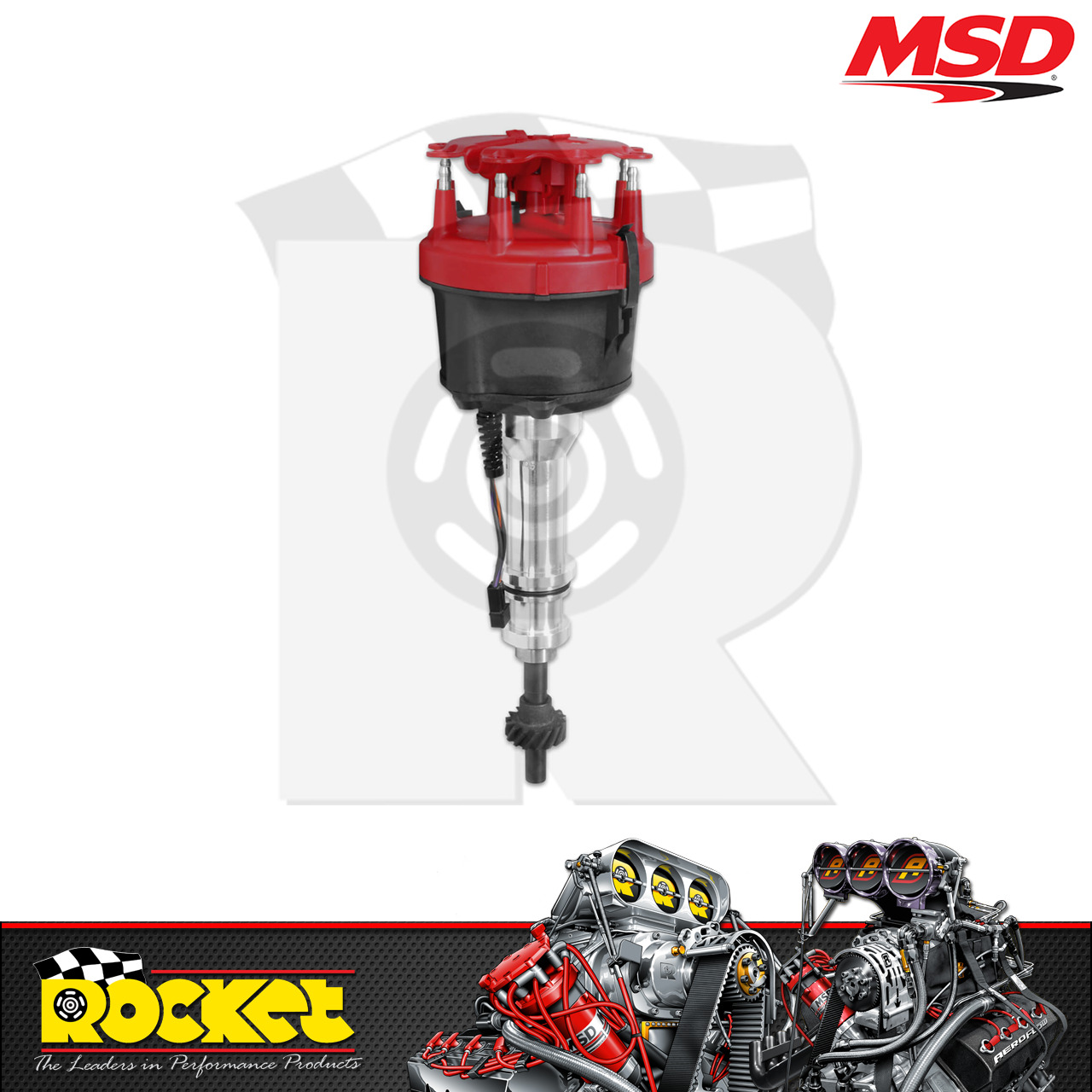 Msd Pro Billet Distributor Ford 302 351c 429 460 V8 Msd8580 Wiring 1 Of 3only 2 Available