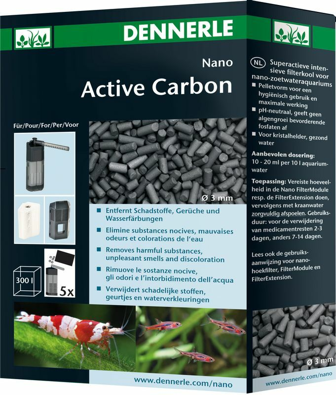 Dennerle Nano ActiveCarbon Activated Carbon for Small Internal Filters