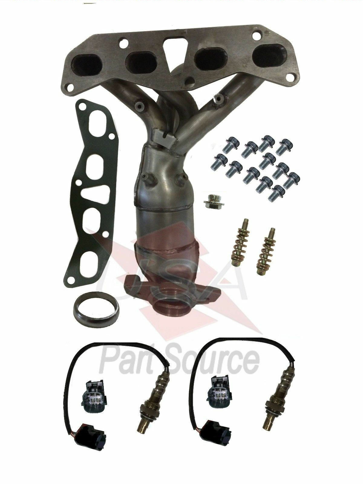 Fits Nissan Altima 2.5L Exhaust Manifold Catalytic Converter With Oxygen  Sensors 1 Of 1FREE Shipping ...