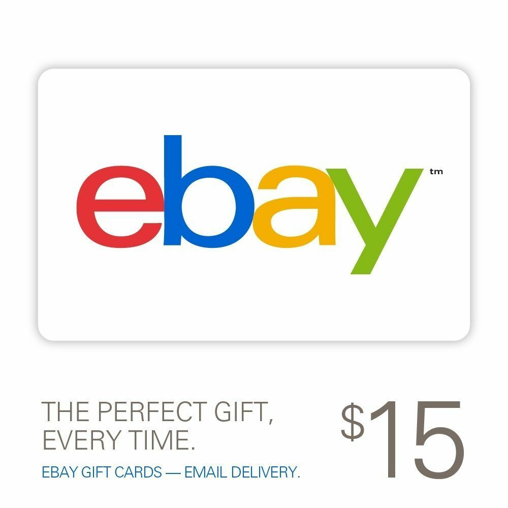 $15 eBay Gift Card - Fast Email Delivery