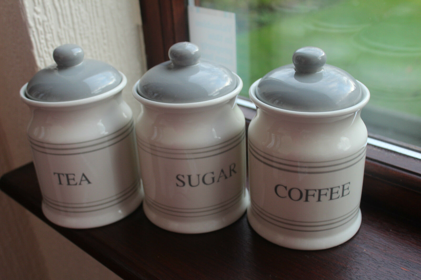 Set Of Retro Kitchen Canisters