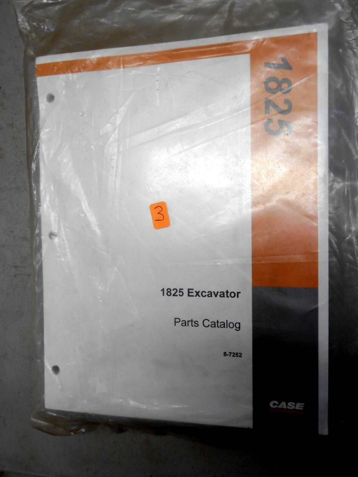 NEW Case 1825 Uni Loader Skid Steer Parts Catalog Manual Bur 8-7252 1 of  1Only 1 available ...