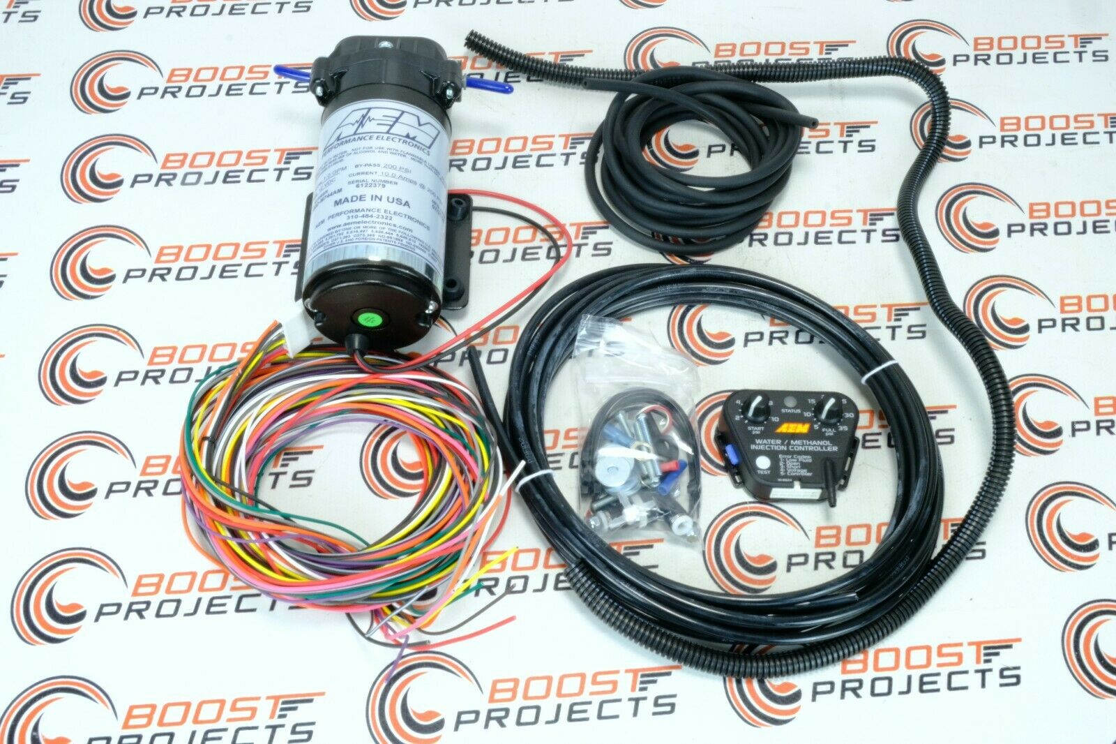 Aem V2 Water Methanol Injection Kit No Tank Internal Map 30 3302 Wiring Harness 1 Of 5only Available