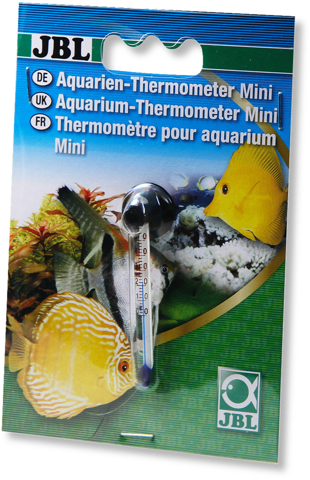 JBL Aquarium Thermometer Mini for Nano Tanks with Suction Cup