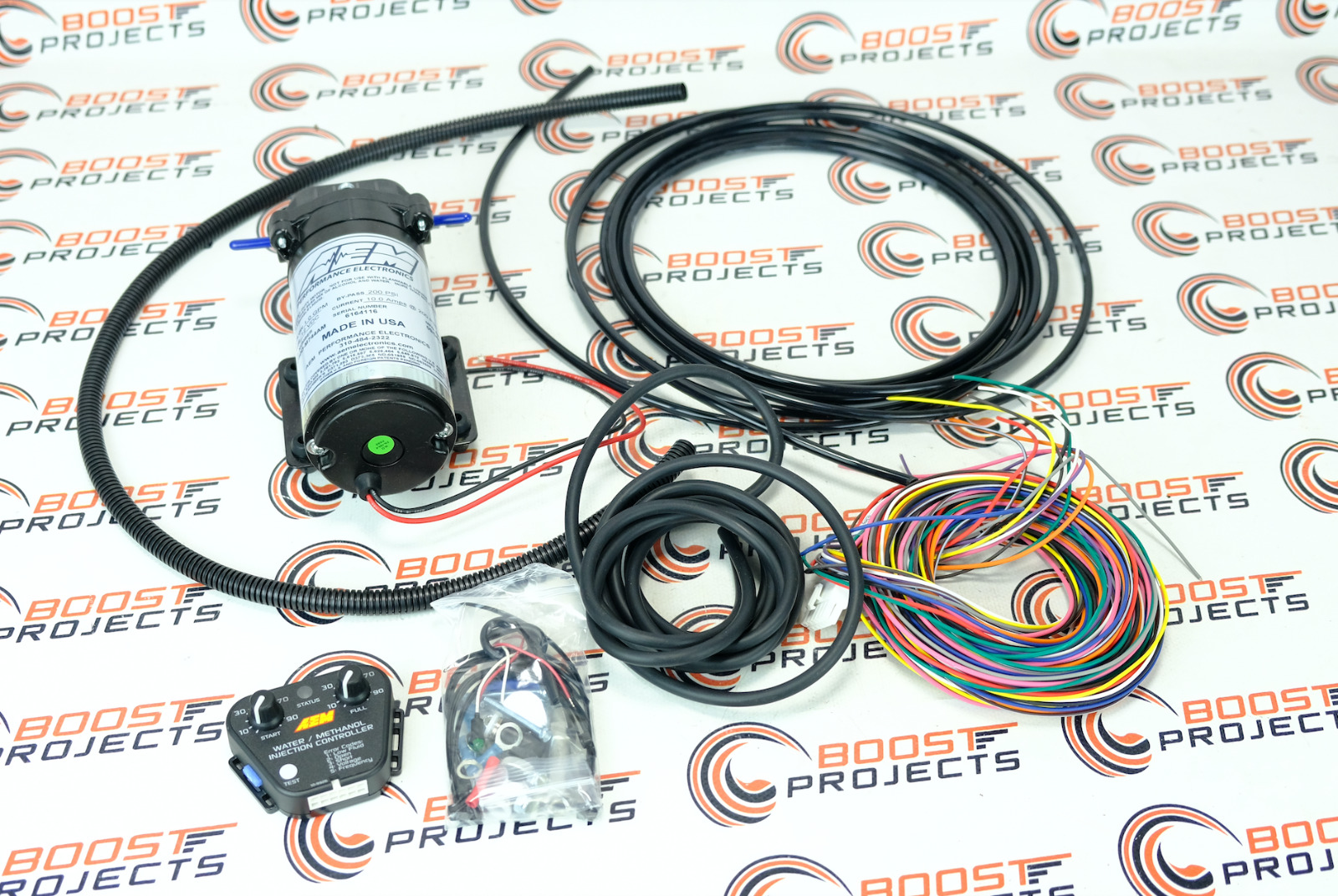 Aem V2 Water Methanol Injection Kit Multi Input No Tank 30 3352 Wiring Harness 1 Of 1only Available