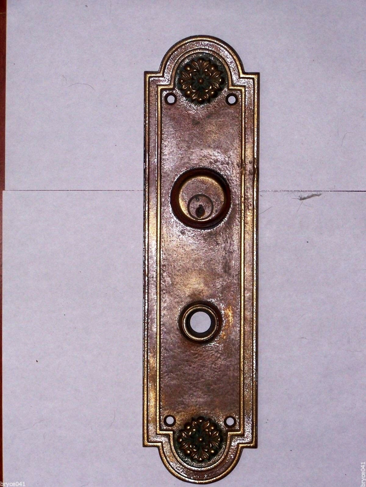 Antique Entry Plate Stamped B475 ROBEN ?