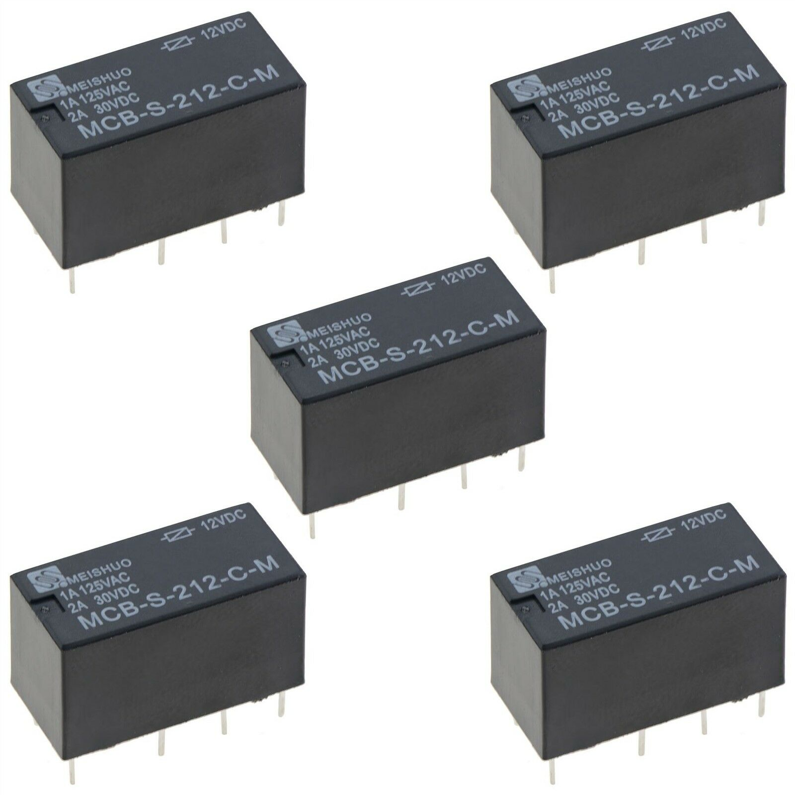 5 X Subminiature 12v Changeover Relay 2a Dpdt Eur 568 Picclick Fr Power 1 Sur 1seulement 0 Disponible