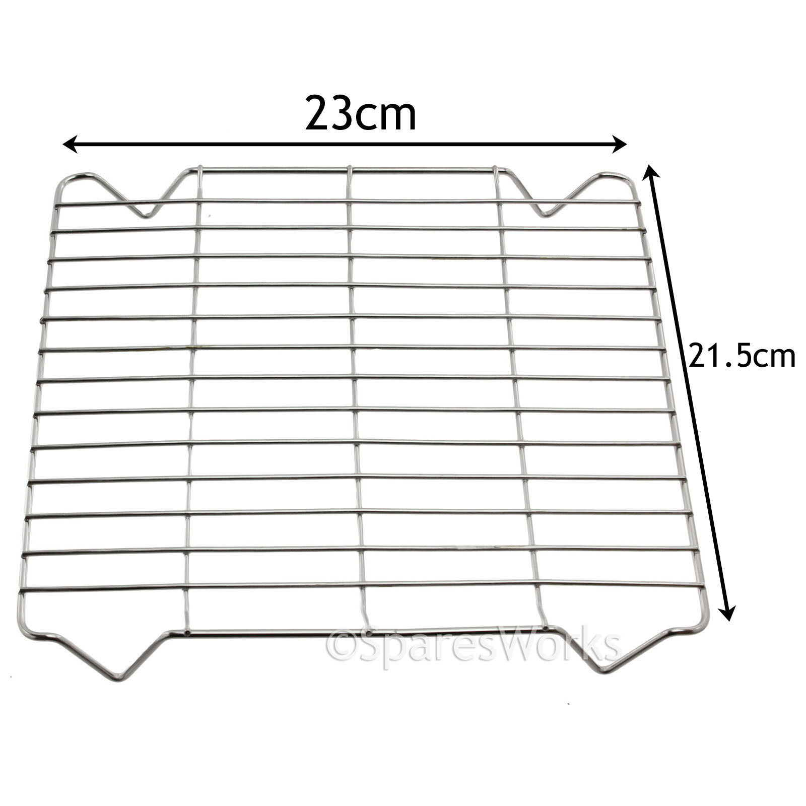 Square Stainless Steel Tray Rack For Britannia Oven Cooker Grill Pan