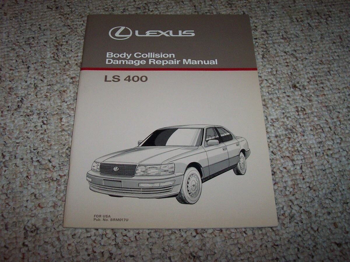 1990 Lexus LS400 LS 400 Body Shop Service Repair Manual 1991 1992 1993 1994  1 of 1FREE Shipping ...