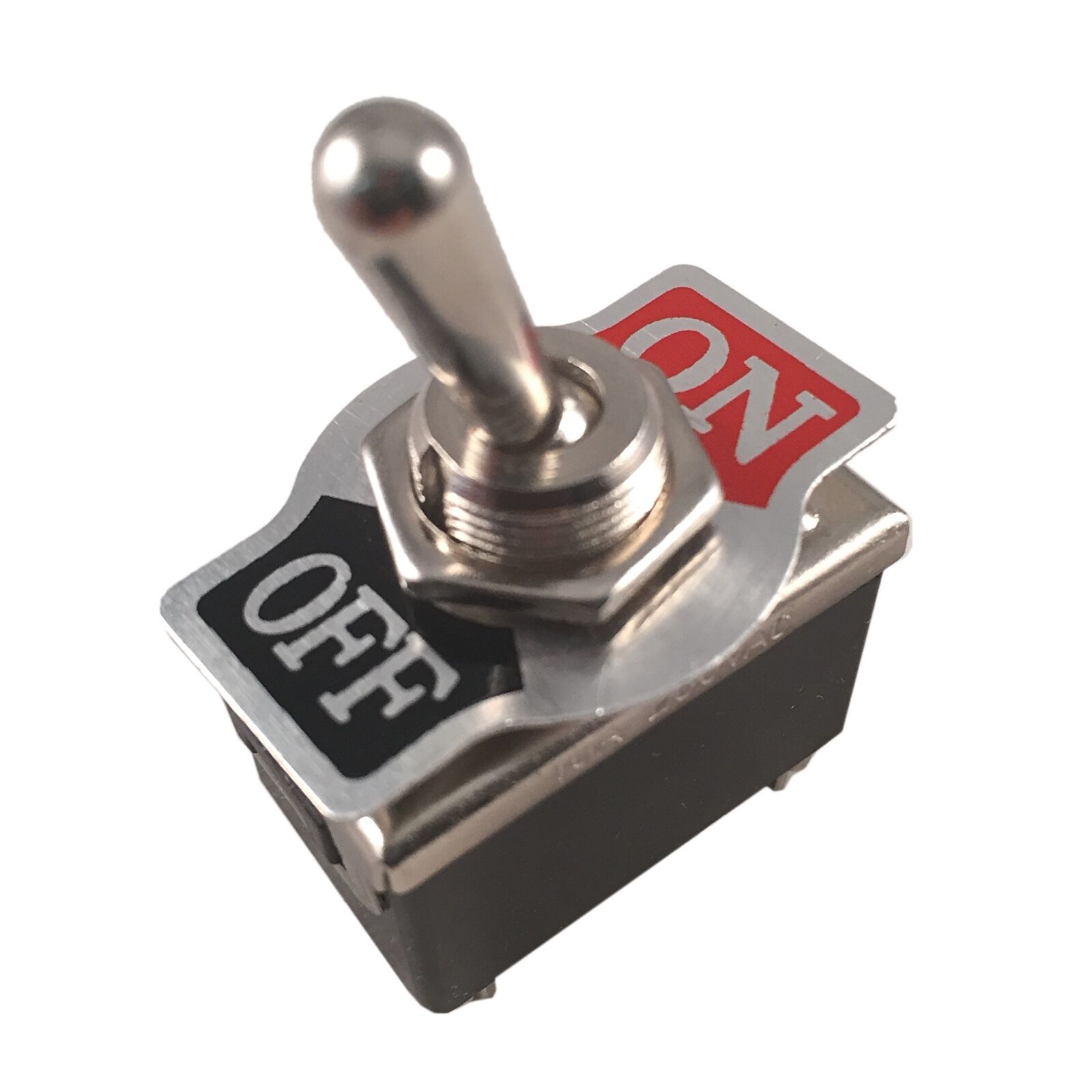 Metal Rocker Toggle Switch Heavy Duty 4 Pin Dpst On Off 2 Position Dash Car 1 Of 7free Shipping