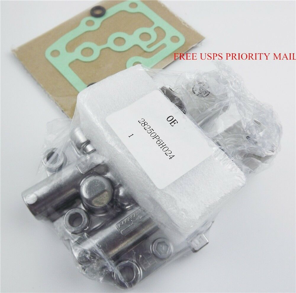 new transmission dual linear shift solenoid witt gasket 1998 for honda acura usa cad. Black Bedroom Furniture Sets. Home Design Ideas