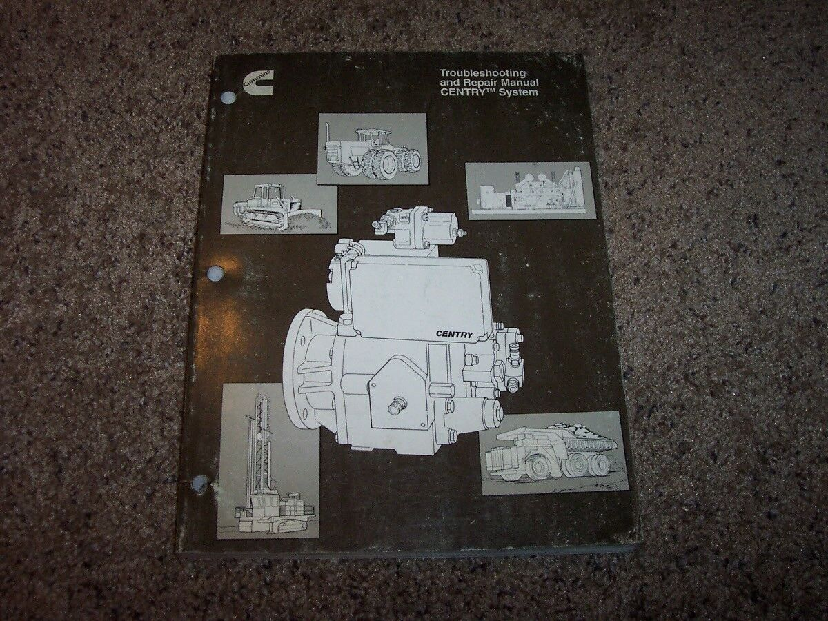 Cummins CENTRY System Diesel Engine Troubleshooting Service Repair Manual 1  of 1Only 1 available ...