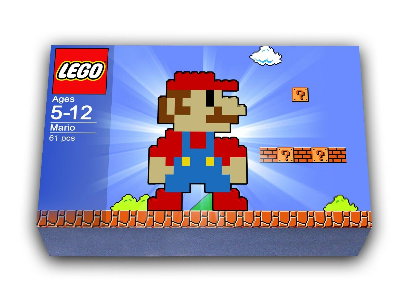 Lego Mario Building Set With Instructions To Build 2499 Picclick