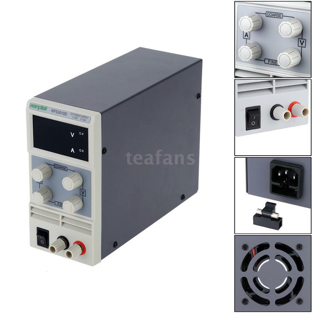 Kps3010d 30v 10a Adjustable Led Digital Switching Dc Power Supply Ac 0 30v0 2a Voltage And Current Regulator 1 Of 9free Shipping