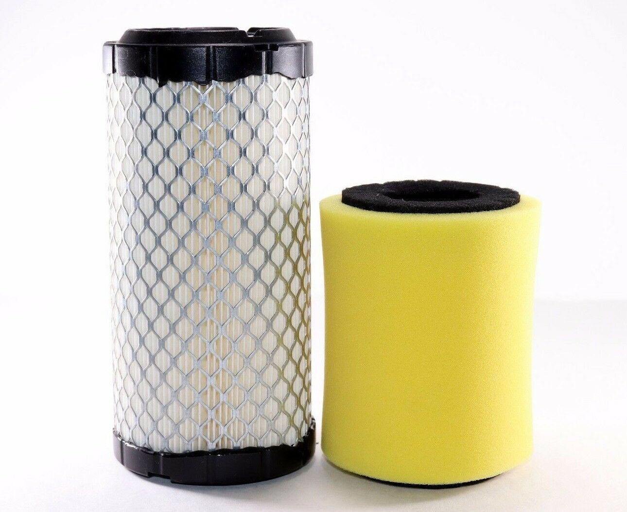 Kawasaki Mule Air Filter Cleaner Kit Replacement 11013 1290 3010 Fuel 1 Of 2free Shipping