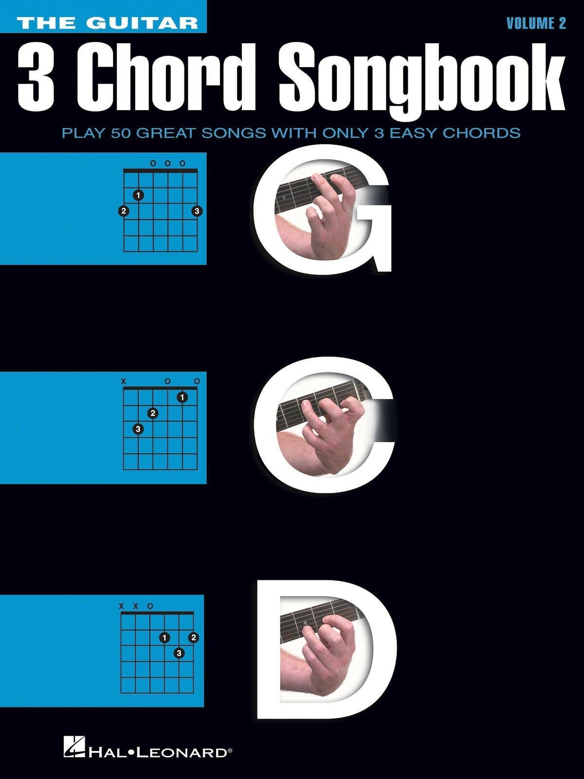 The Guitar Three Chord Songbook Melodylyricschords Volume 2 Sheet