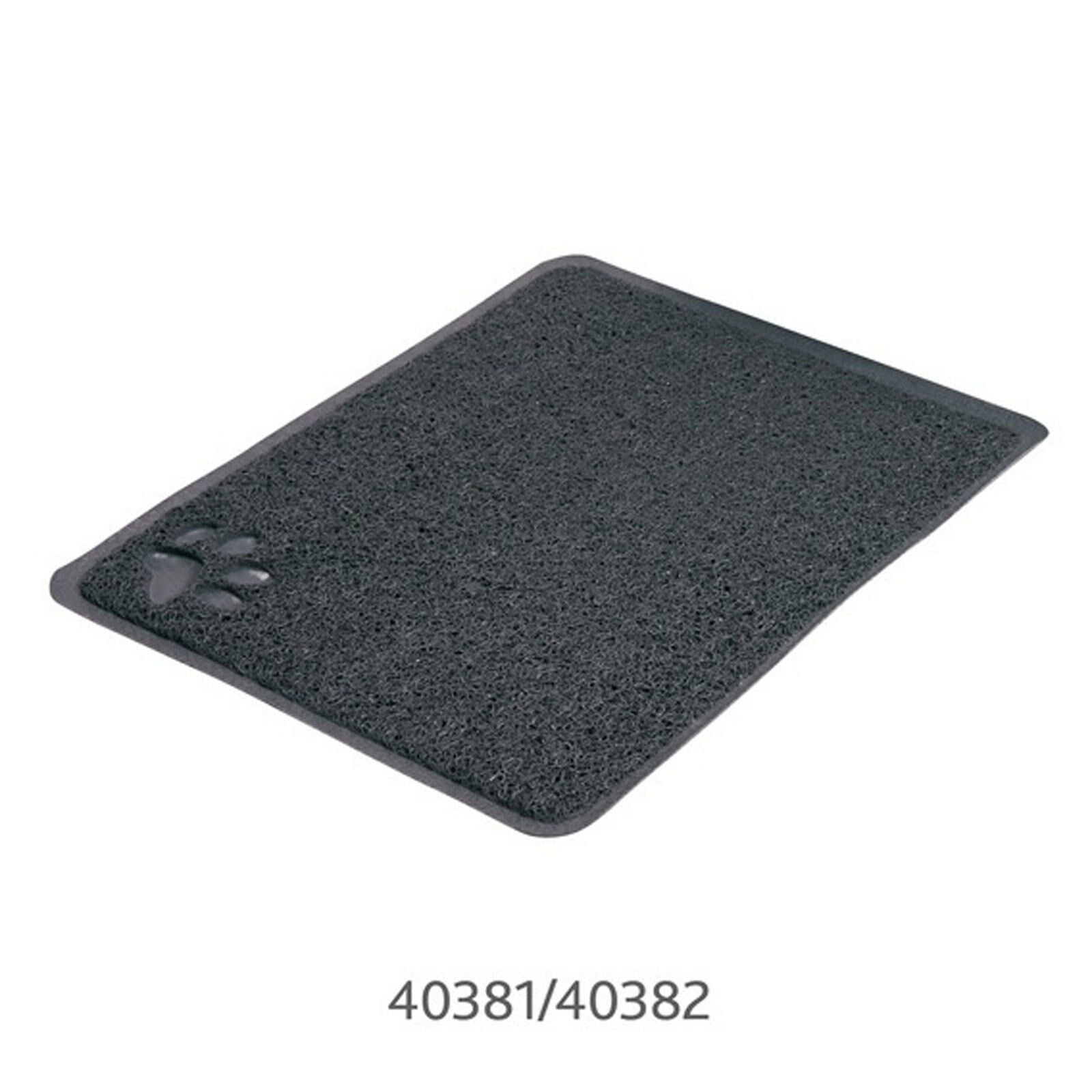 Trixie Cat Litter Tray Mat PVC Anthracite Rectangle / 40x60cm TX40382