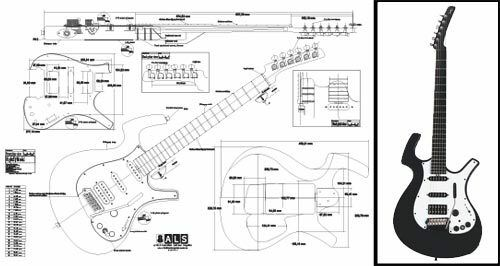 parker nitefly electric guitar plan 23 69 picclick rh picclick com Parker Fly Mojo Parker Fly Specs