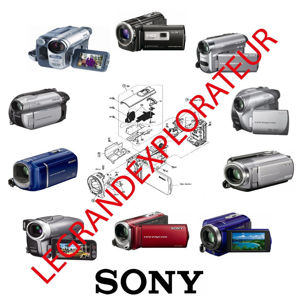 sony camcorder repair service manual of your choice ask for your rh picclick com Service Manuals Yamaha Service Manuals PDF