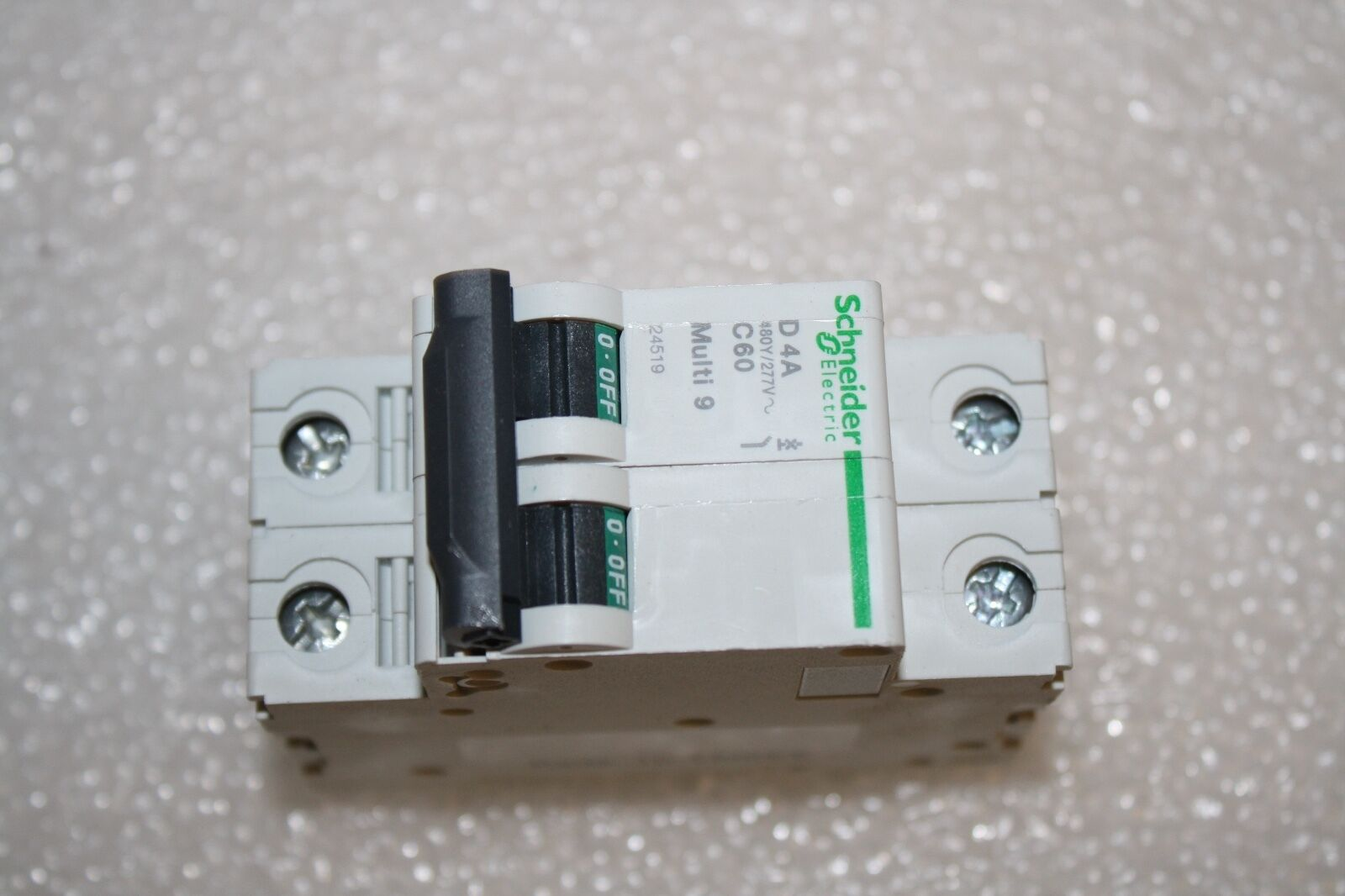 Schneider Electric 24519 Circuit Breaker Lug C60n 2pole 4a Din Thermometerwithstandalonearduinouno Images Thermistor Circuitjpg 1 Of 7only 5 Available