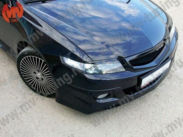 SPORT FRONT GRILL Eyelids For Honda Accord Acura TSX CL - Acura tsx grill
