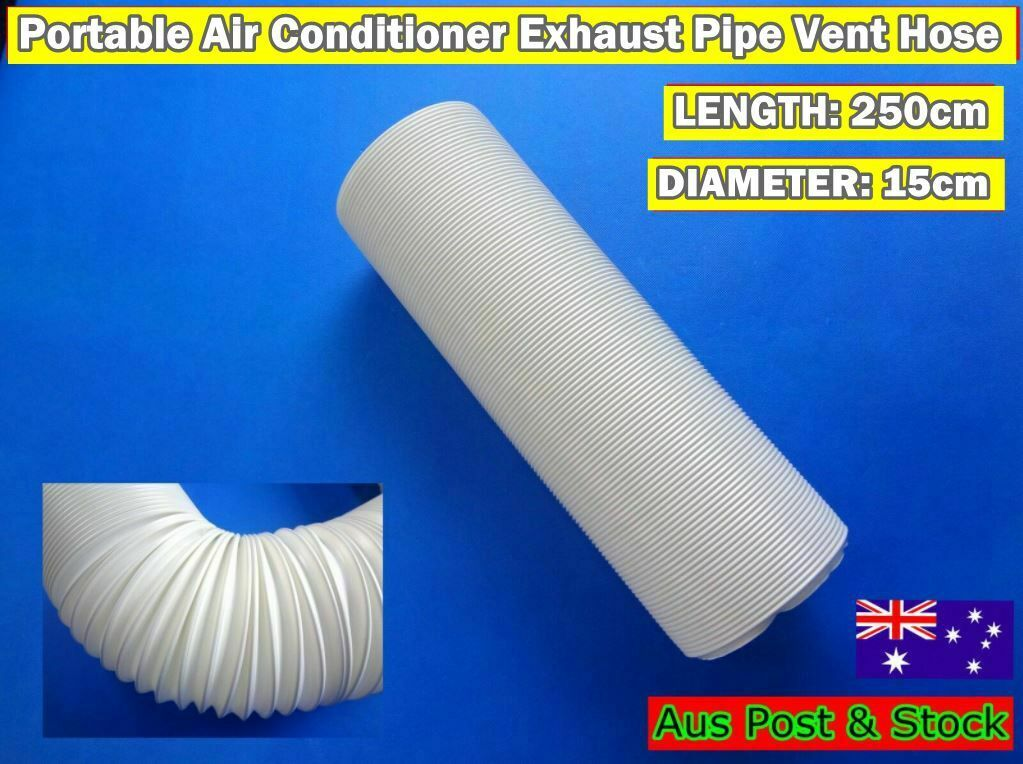 Portable Air conditioner Spare parts Exhaust pipe vent hose only (250cm x 15cm)