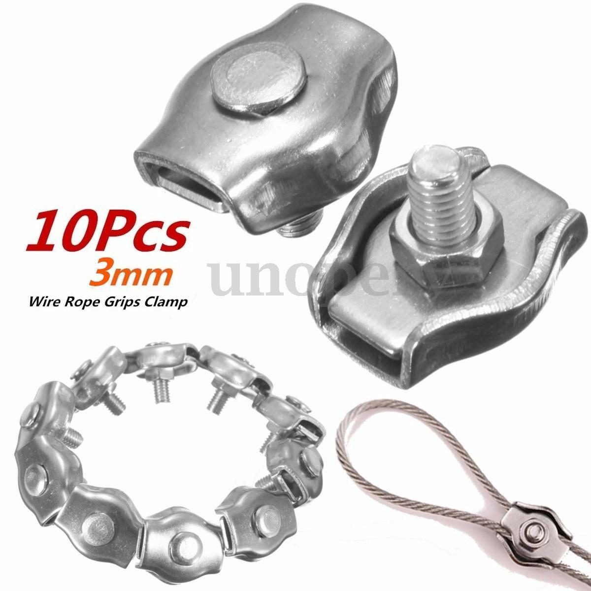 Magnificent Steel Wire Cable Clamps Embellishment - Electrical and ...