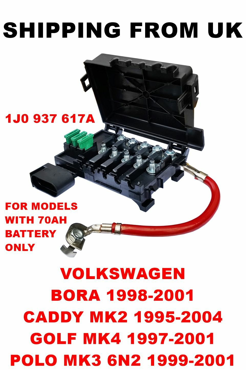 vw polo mk3 fuse box location