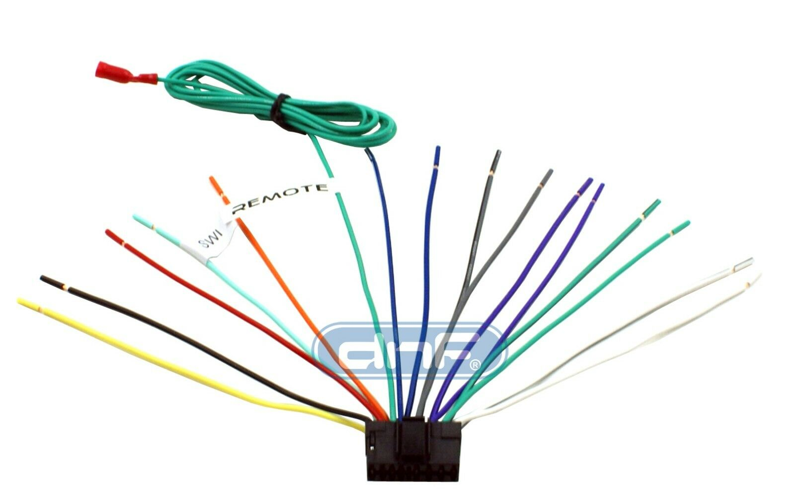 Sony Wiring Harness 16 Pin + 6 FT Remote Wire (Click For Compatibility  Chart!