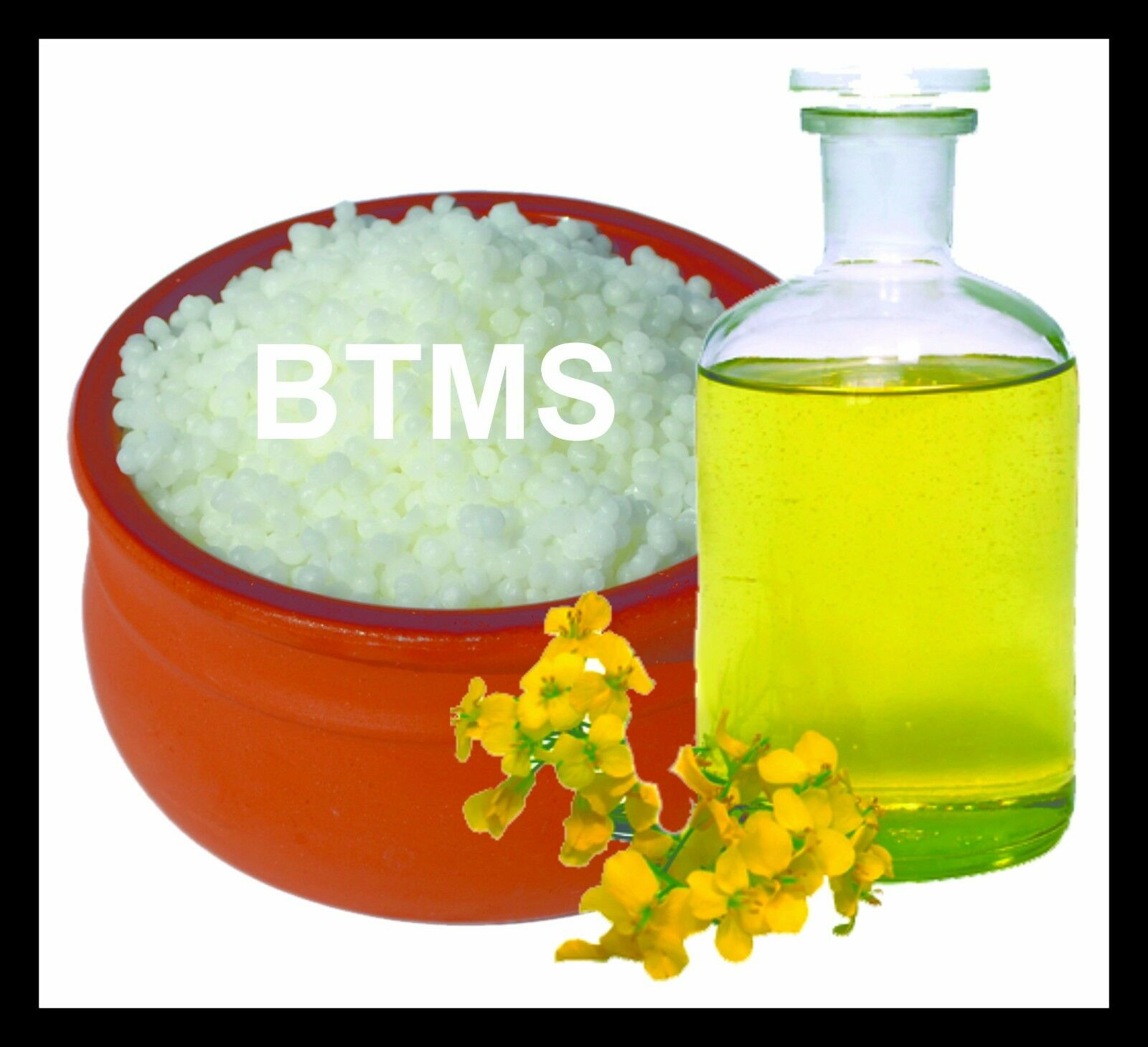 BTMS Conditioning Emulsifying Wax - Make Hair Conditioner & Creams - 100 grams